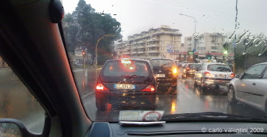 viale europa traffico